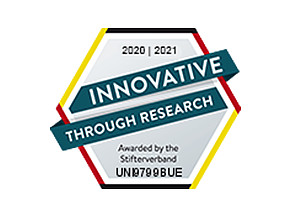 Quality label innovative through research